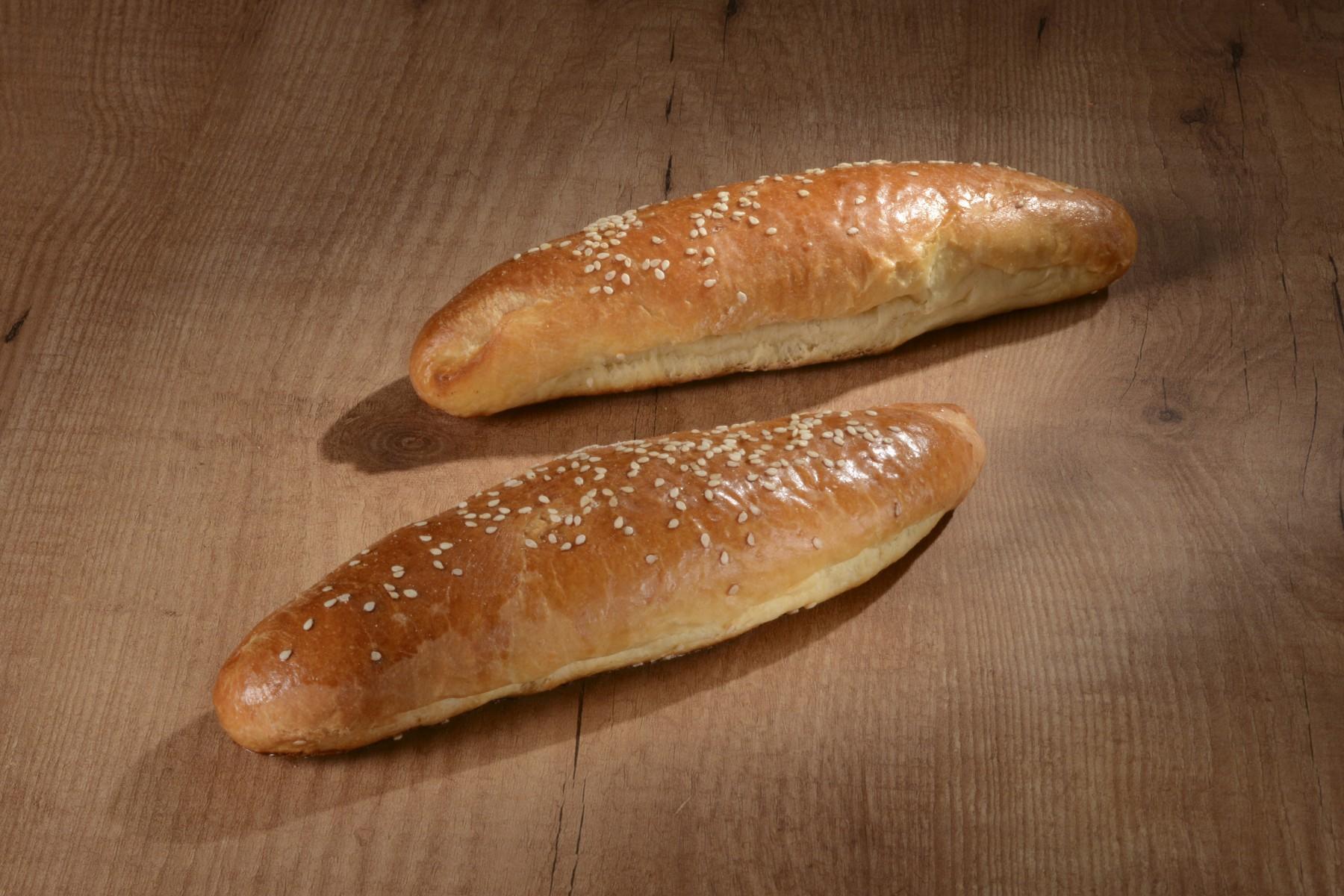 Petit pain au lait sésame 100gr