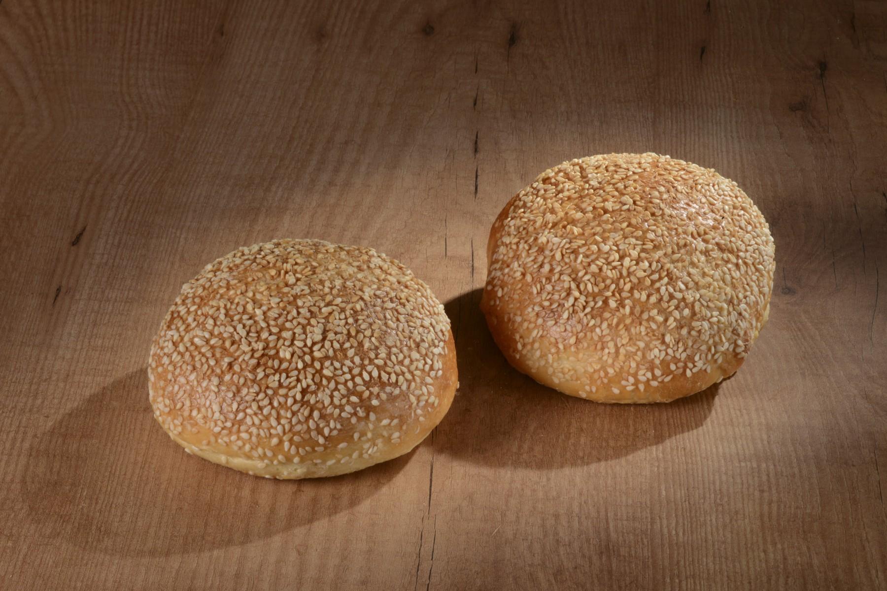 Petit pain au lait Burger Sésame 130gr